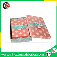 Dot Printing Craft Paper Box for Jewelry,Jewelry Paper Box