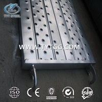 Cheap Galvanized Scaffolding Steel Plank/Walk Board/ Catwalk/galvanized metal scaffolding steel plank in China