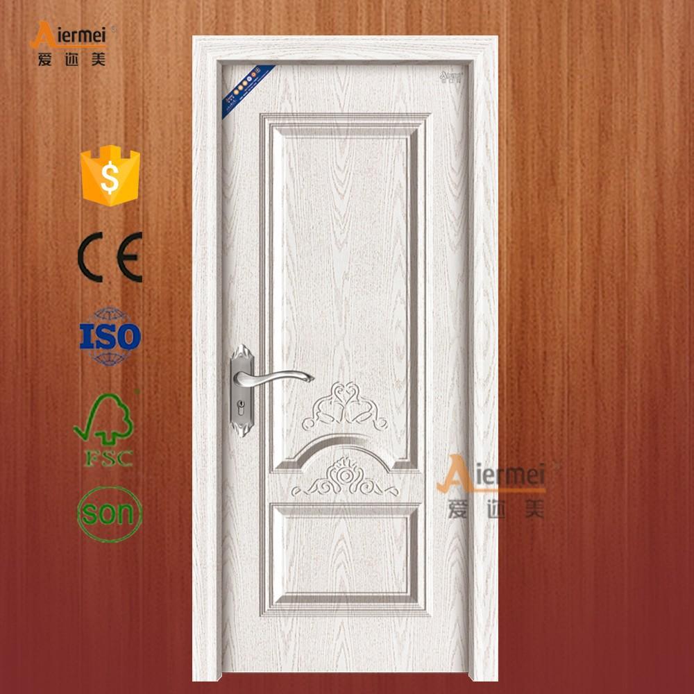 Restaurant mian door with flower design pvc coating indian
