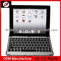 Wireless Mini Bluetooth Keyboard for Ipad 2 3 4 with sleep mode Stand Holder wallet in stock