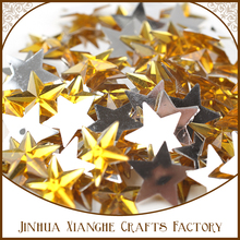 DIY(TM) Sparkly Stars DIY Acrylic Mirror Surface Crystal Wall Stickers 3D Home Decal Living Room.