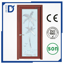 CE approved commercial aluminium bathroom door resident use