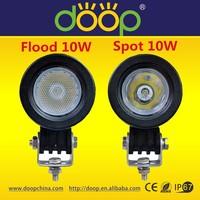 12V/24V 10w led offroad work lamp high lumens spot flood led work lamp for cars motocycles etc.