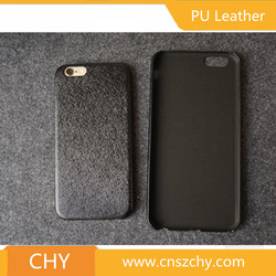 Wholesale ultra slim silk skin pu leather back cover cell phone case for iphone 6s
