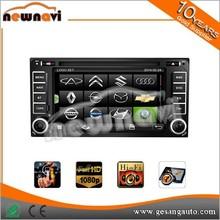 Newnavi 2015 new sale mirror link, high resolution car dvd player for TOYOTA universal