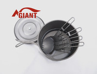 2015 hot sale titanium pot factory