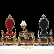 2015 Luxury Design Hotel High Back King Throne Chair Hotel Crown Chair Bride and Groom Wedding Chair