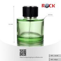 PROMATION 20% discount CE/ISO 110ml green bottle perfume custom logo