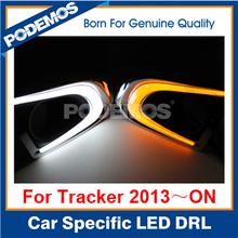 For Chevrolet Tracker led drl led daytime running lights led daylight drl lights led car light turn signal