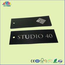paper hang tag for garment & clothing hang tag, garment hang tag
