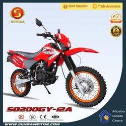 Guangzhou New Style 200cc Off Road Motorcycle/Dirt Bike SD200GY-12A