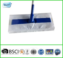 Disposable wet mopping cloths refills, power cleaning cloth with scrubbing strip