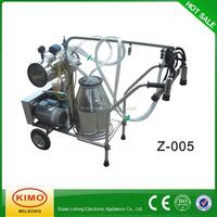 KIMO CE ISO9001 Certification Vacuum Pump Portable One Cow Milker Machine