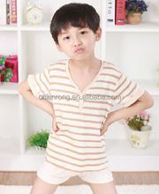 fashionable polo shirt for kids/children stripe t shirts/100%polyester shirts tee polo