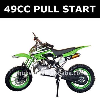 how to start a mini moto without a pull start