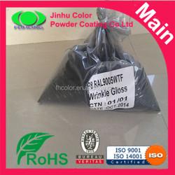 RAL9005 Black powder Paint Colors Powder Coating good quality
