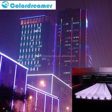 Professional dmx 5050 rgb led digital bar/ led bar dmx application for the facade building