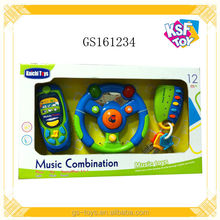 Music Combination Cartoon Musical Instrument Set Toy With Light Music