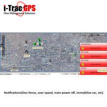 Sistema di tracciamento satellitare supporti di google earth, android e iphone