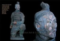 2015 terracotta warrior clay art pottery