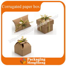 High Quality Custom Made Corrugated Paper Gift Box for birthday and wedding