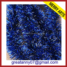 Alibaba suppiler graduation party decoration wholesale blue tinsel