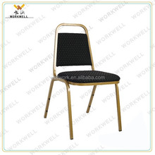 WorkWell high quality fabric banquet chair with Rubber wood legs Kw-D4017
