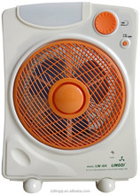 10'' rechargeable fan with LIGHT BLDC motor