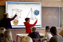 84 inch Magnetic Interactive Electronic Whiteboard