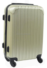 Resist-scratch PC lines finish trolley luggage NEW Design PC Trolley Luggage