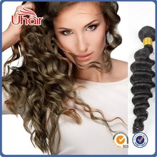 Wholesale Grade 7a unprocessed virgin peruvian hair deep curl wave, Natural color 100% malaysia curly human hair
