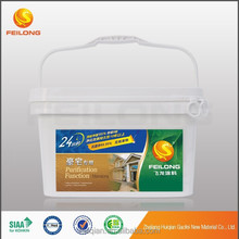 Nano functional waterborne interior wall emulsion paint