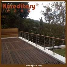 Foshan Veranda 4mm cable railing for outside/Foshan Hereditary balcony tension wire railing