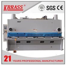 qc11k 8x4000 mm guillotine metal shearing machines , CNC cutting machine 10mm to cut 4 meters length metal sheet