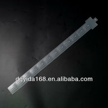 Adhesive Folding injection plastic clip strip