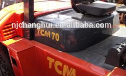 Japan forklift , used forklift , 7 Ton TCM Forklift for Sale