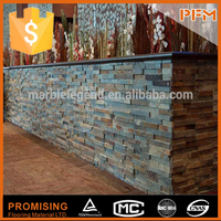 wholesale high quality natural blue slate stone for out wall