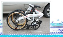 Elegant White folding bikes,cheap folding bike,white children bicycle price