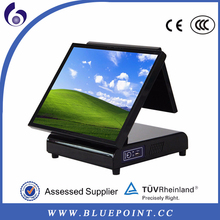 2015 new style 15 inch folding restaurant pos terminal