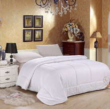 New design luxury cotton satin drill silk quilt ,thick comforter from china