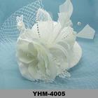 Casamento chapéus Cap Fascinator chapéu com projeto da flor