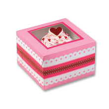 custom cute paper cake box packaging