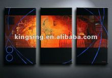 Canvas Paining Abstract spark picture