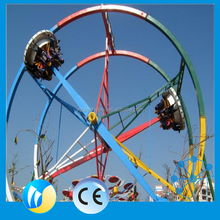 thrill play rides New type flying chair ride ferris ring car