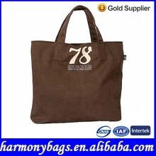 Cheap woman plain canvas shopping bag