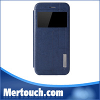 New PU Leather Flip Battery Back Cover Case for iphone 6