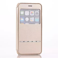 For Apple iPhone 6 window Smart Key PU Leather Mobile Phone Case