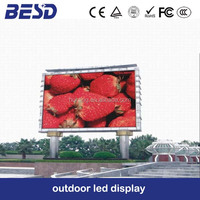 Outdoor TV commercial advertising electronic media video P20 sign screen