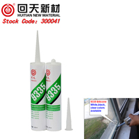 HT9335 silicone sealant waterproof adhesive glass adhesive