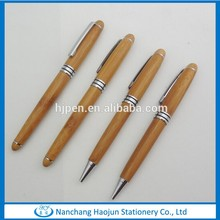 Cheap wood ballpoint pen with wooden materials are on wholesale in china